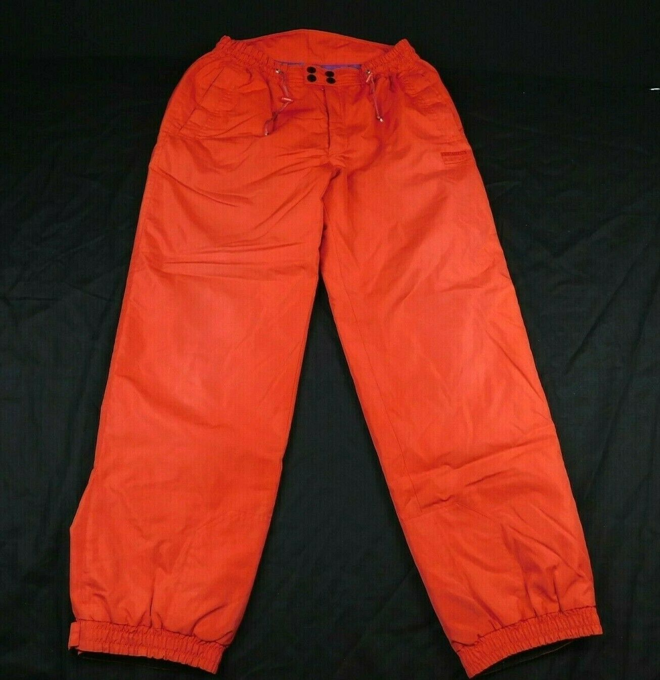 Tenson AirPush Red Ski Pants Sz XL W 34-38 L 33 Elastic Waist Draw String image 2