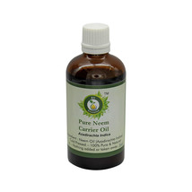 R V Essential Pure Neem Oil Azadirachta Indica Natural Cold Pressed For ... - $6.97+