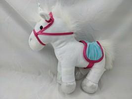 """Pucci Pups White Unicorn Plush 10"""" Stuffed Animal Toy - $14.95"""