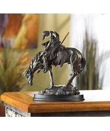 END OF THE TRAIL Statue Bronze Finish - $33.19