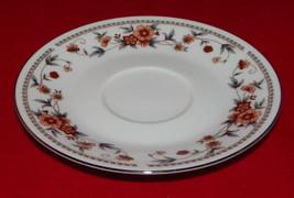 "Sheffield Fine China Saucer Plate 6.25"" Anniversary Pattern Madein Japan Vintage - $5.99"