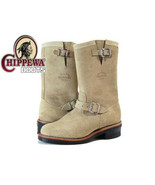 Chippewa 91071 11-in Suede Plain Toe Engineer Men Boots NEW  Size Men US... - $159.99