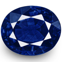 IGI Certified NIGERIA Blue Sapphire 0.49 Cts Natural Untreated Oval - $796.00