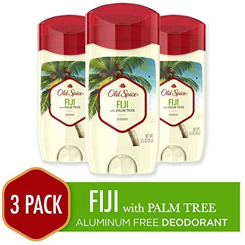 Old Spice Aluminum Free Deodorant for Men, Fiji with Palm Tree Scent, 3.0 Ounce,