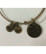 Alex And Ani Braclet Charity By Design Positive Languages Charm Bracelet... - $5.93