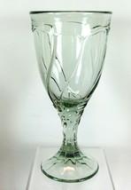 """Noritake Sweet Swirl One Wine Glass Pattern 603 Light Green 6-3/4"""" - $8.90"""