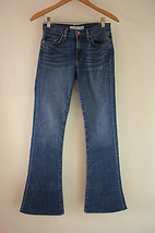 J Brand 25 Denim 1197 Martini Flare Blue Jeans Antigua Wash Wide Leg 119... - $22.80