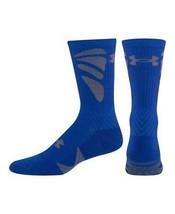 UNDER ARMOUR UA Army Of 11 Football Crew Socks sz M Medium (4-8.5) Blue ... - $19.99