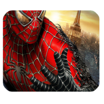 Mouse Pad Spiderman Face Marvel Superheroes Movie Game Animation Fantasy - $6.00