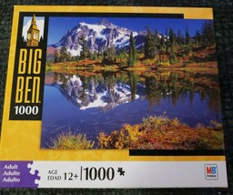 """Big Ben """"Mt Baker National Forest WA"""" 1000 Piece Jigsaw Puzzle New Sealed - $24.99"""
