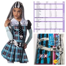 Rubies Monster High Frankie Stein Halloween Youth Costume Dress Medium S... - $237,32 MXN