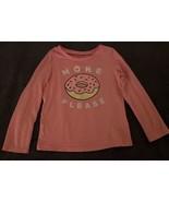 Oshkosh B'Gosh Originals Toddler Girls Long Sleeve Pink Donut Shirt (SIZ... - $11.83