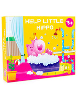 Children's Hippo Bathing Puzzle Board Game - $30.55