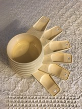 Vtg Tupperware Almond Measuring Cup Set  - $14.00