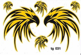 D449 Eagle Wing Bird Sticker Decal Racing Tuning Size 27x18 cm / 10x7 inch - $3.49