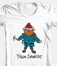 Yucon Cornelius T shirt retro 80s Misfit Toys Christmas cotton graphic white tee image 2