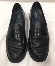 Cole Haan Pinch Men's Shoes Sz 9 B Black Leather Slip On Penny Loafer - $23.36