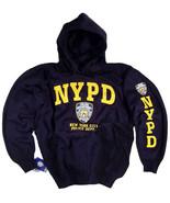 NYPD Sweatshirt Hoodie Shirt Decal Gear Patch Blue Uniform Mens Womens A... - $34.99