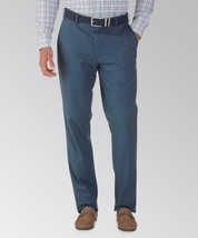 NWT - $149 Peter Millar Navy Solid Twill Chino Pants Size 38 - $59.39