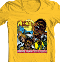Werewolf by Night T Shirt classic 1970s marvel's Legion of Monsters graphic tee image 2