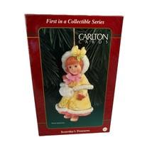 1998 AGC Carlton Cards Heirloom Ornament Yesterday's Treasures Series 1s... - $18.75