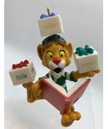 Hallmark 2001 Lionel Plays with Words PBS Kids Between Lions Christmas O... - $7.92