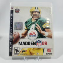 Madden NFL 2009 Playstation 3 PS3 Video Game Complete CIB - $2.99