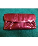 Miche soft wallet shiny fuchsia clutch wallet patent leather - $19.00