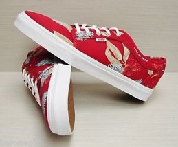 VANS CHUKKA LOW ALOHA CHILI PEPPER WHITE SZ MENS 6.5 SHOES SKATE SK8 HI ... - £33.68 GBP