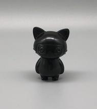 Max Toy Black Unpainted Mini Cat Girl image 1