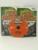 Puzzle Challenge Crosswords and More (Nintendo Wii, 2009) CIB, USA SELLER - $2.91