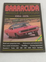 Barracuda Muscle Portfolio 1964-1974 Brooklands Books mag article compil... - $12.37