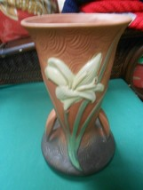 Beautiful Repo ROSEVILLE  Rose/Clay  Zephyr Lillys VASE # 136-9 - $19.39