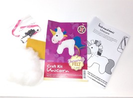 Create Your Own Felt Character Craft Kit Unicorn - $8.81
