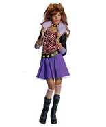 Posh Fashionista Monster High Clawdeen Wolf Girl Costume and Wig, Rubies - £30.77 GBP