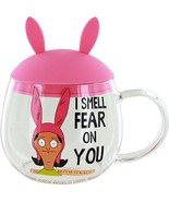 Bob's Burgers Louise Glass Mug with Removable Ears - $21.98