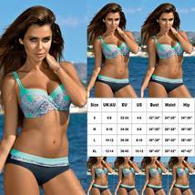 US Women Swimming Costumes Padded Bikini Brazilian Swimwear Beachwear Summer image 6