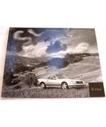 2000 mercedes sl500 sl600 owners sales brochure w129 sl500 sl600 origina... - $37.99
