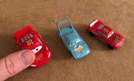 Cars Disney Pixar MINI lot action figures cake topper lightning dinoco - $14.50