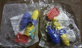 Two 1997 Arbys Vintage Micro Super Soakers Travel Size Pool Beach Squirt... - $10.39