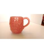 "Bordallo Pinheiro, Rabbit Pink, Celery, Cabbage & Rabbits 3 7/8"" Mug, New - $9.99"