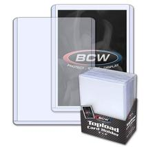 """BCW 3X4"""" Topload Standard Trading Card Plastic Holder 25 Pack - $5.99"""