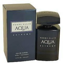 Perry Ellis Aqua Extreme Cologne  By Perry Ellis for Men 3.4 oz Eau De T... - $38.20
