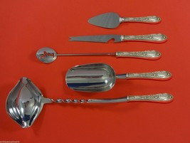 Rose by Kirk Sterling Silver Cocktail Party Bar Serving Set 5pc Custom Made - $339.00