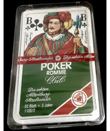 Die Echten Altenburg Stralsunder 52 Blatt Poker Playing Cards 3 Jokers Sealed  - $14.85