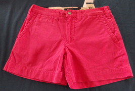 NWT Polo Ralph Lauren Pink Cotton Shorts Misses Size 4 - $38.61