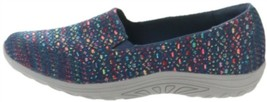 Skechers Multi-Knit Slip-On Shoes Navy 10M NEW A349641 - $52.45