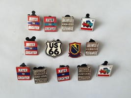 Disney Official Trading Pins Cars Movie Theme Lot of 13 Collectible - $21.38