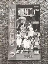 NBA Action '94 **ORIGINAL MANUAL ONLY** Sega Genesis - LIGHT WEAR - $4.27