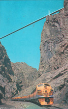 Royal Gorge Suspension Bridge near Canon City, Colorado Postcard - $2.99
